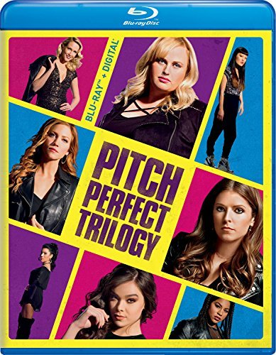 Pitch Perfect Trilogy Blu Ray