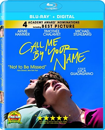 Call Me By Your Name Hammer Chalamet Stuhlbarg Blu Ray Dc R
