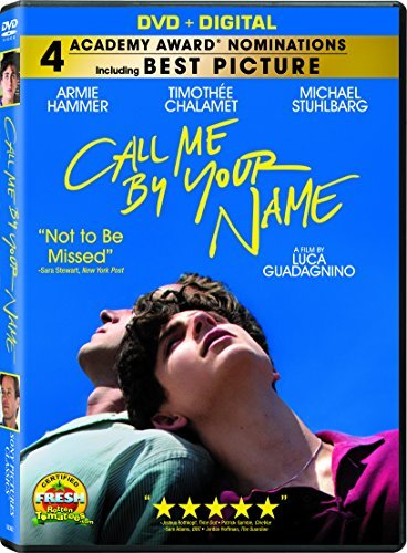 Call Me By Your Name Hammer Chalamet Stuhlbarg DVD Dc R