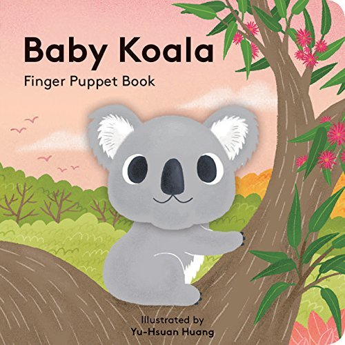 Chronicle Books Baby Koala Finger Puppet Book