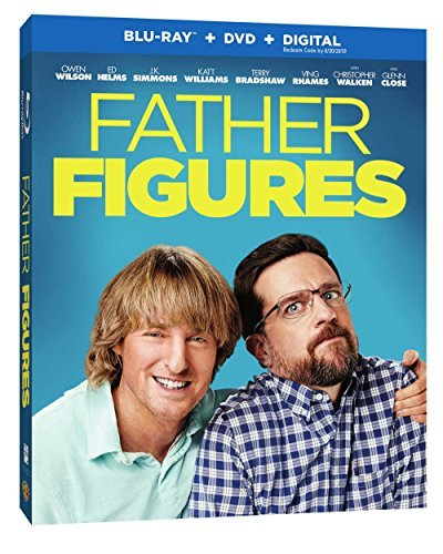 Father Figures Wilson Helms Blu Ray DVD Dc R