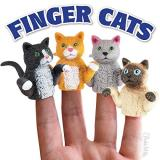 Novelty Finger Cat (one Random Finger Cat)