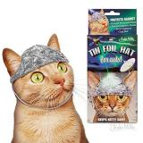 Novelty Tin Foil Hat For Cats