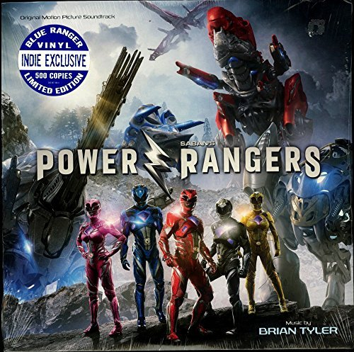 Power Rangers Soundtrack Indie Exclusive Blue Vinyl Ltd. To 500 Copies