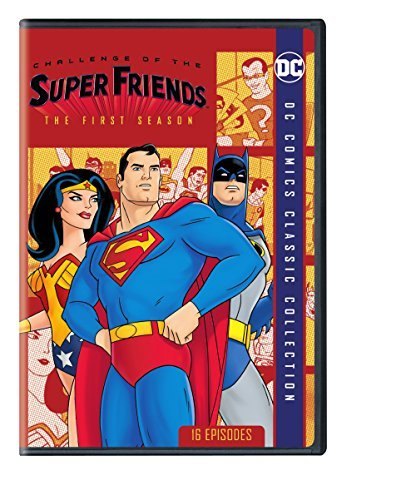 Super Friends Challenge Of The Super Friends Season 1 DVD