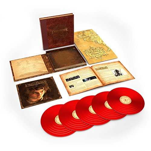 Lord Of The Rings The Fellowship Of The Ring Th 5lp 180g Red Vinyl Howard Shore