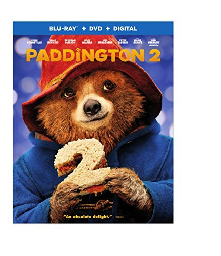 Paddington 2 Whishaw Grant Bonneville Hawkins Blu Ray DVD Dc Pg