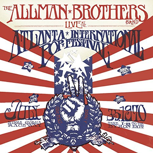 The Allman Brothers Band Live At The Atlanta International Pop Festival July 3 & 5 1970 4 Lp Numbered