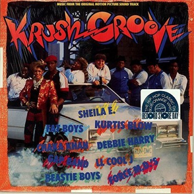 Krush Groove Soundtrack Orange & Blue Vinyl