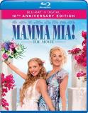 Mamma Mia! The Movie Streep Brosnan Firth Seyfried Blu Ray Pg13 10th Anniversary Edition