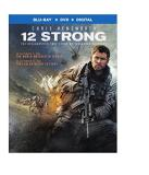 12 Strong Hemsworth Shannon Pena Blu Ray DVD Dc R