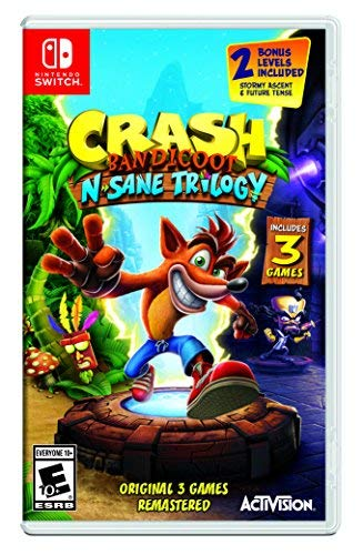 Nintendo Switch Crash Bandicoot N. Sane Trilogy Crash Crash 2 Crash Warped