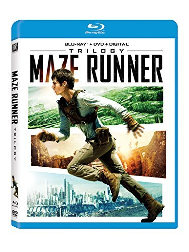 Maze Runner Trilogy Blu Ray