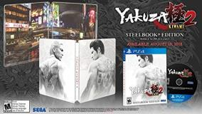 Ps4 Yakuza Kiwami 2 Steelbook Edition
