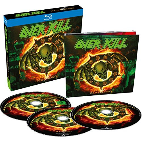 Overkill Live In Overhausen 2 CD 1 Blu Ray