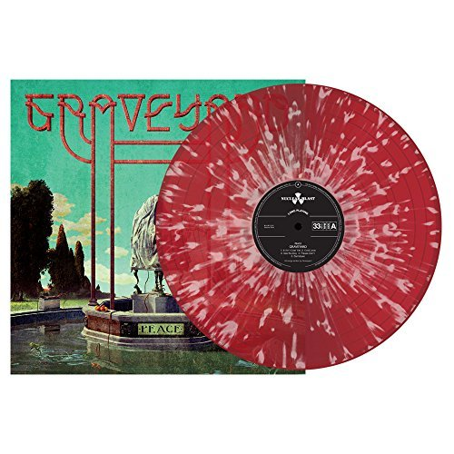 Graveyard Peace (red W White Splatter Vinyl) Limited To 2500 Worldwide