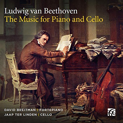 Beethoven Breitman Linden Music For Piano & Cello