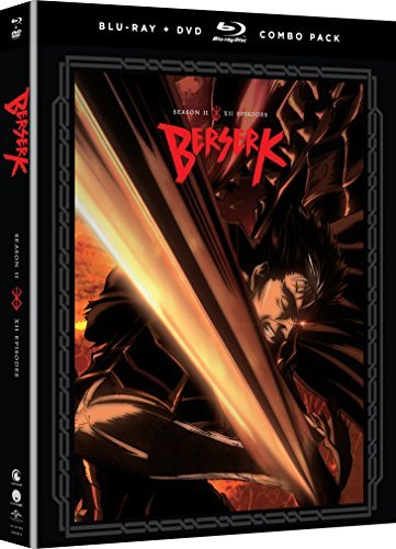 Berserk Season 2 Blu Ray DVD