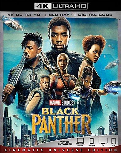 Black Panther/Boseman/Jordan/Nyongo/Gurira@4KHD@PG13