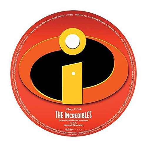 Incredibles Soundtrack Picture Disc