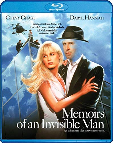 Memoirs Of An Invisible Man Chase Hannah Neill Blu Ray Pg13