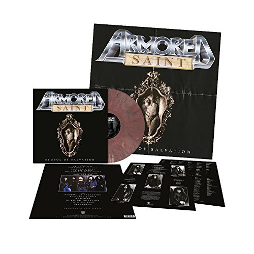 Armored Saint Symbol Of Salvation (violet Rosy Brown Marbled Vinyl) Violet Rosy Brown Marbled Vinyl Ltd To 300
