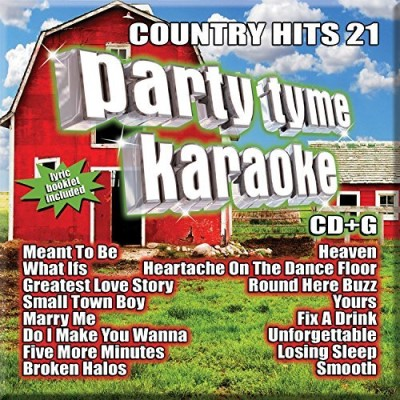 Party Tyme Karaoke Country Hits 21