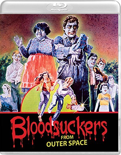 Blood Suckers From Outer Space Bradeen Brigham Blu Ray DVD R