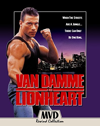 Lionheart Van Damme Page Blu Ray DVD R