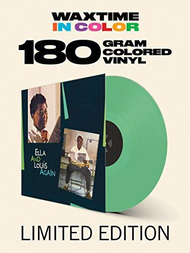 Ella Fitzgerald Louis Armstrong Ella & Louis Again Solid Green Colored Vinyl