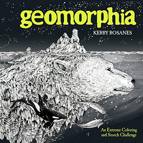 Kerby Rosanes Geomorphia An Extreme Coloring And Search Challenge