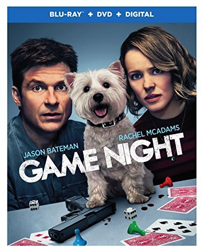 Game Night Bateman Mcadams Blu Ray DVD Dc R