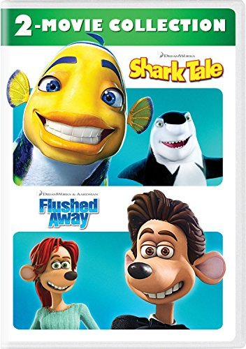 Shark Tale Flushed Away Double Feature DVD