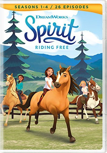 Spirit Riding Free Seasons 1 4 DVD