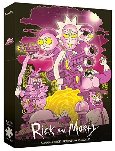 1000 Piece Puzzle Rick And Morty Big Trouble In Little Sanchez