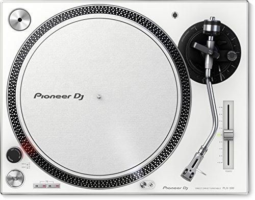Pioneer DJ PLX-500-W/Direct Drive Dj Turntable, White