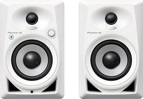 """Monitor Speakers/4""""BLUETOOTH DESKTOP MONITOR SPEAKERS (PAIR)- White"""