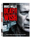 Death Wish (2018) Willis D'onofrio Blu Ray DVD Dc R