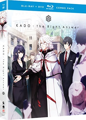 Kado The Right Answer The Complete Series Blu Ray DVD Nr