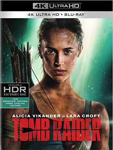 Tomb Raider (2018) Vikander West 4khd Pg13