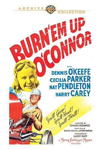 Burn 'Em Up O'Connor/O'keefe/Parker@DVD MOD@This Item Is Made On Demand: Could Take 2-3 Weeks For Delivery