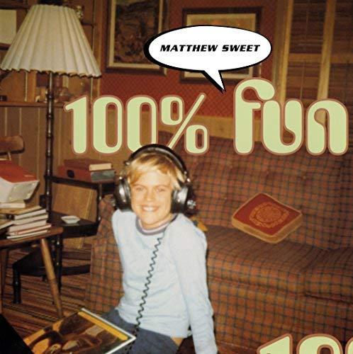 Matthew Sweet/100% Fun (Expanded Edition)@2LP 180 Gram Audiophile Vinyl