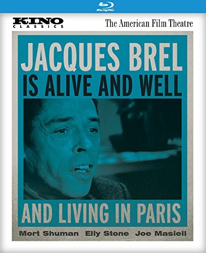 Jacques Brel Is Alive & Well & Living in Paris/Stone/Shuman@Blu-Ray@PG