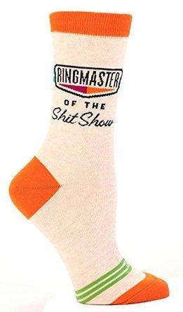Women's Socks/Ringmaster of the Shit Show