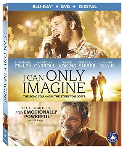 I Can Only Imagine/Finley/Quaid@Blu-Ray/DVD/DC@PG