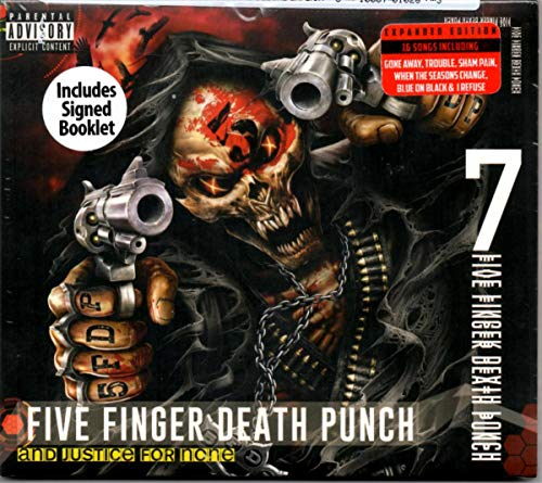 Five Finger Death Punch And Justice For None (indie Only Autographed Deluxe Version) Explicit Version