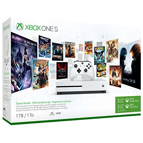 Xbox One S System S 1tb Game Pass Live 3 Month