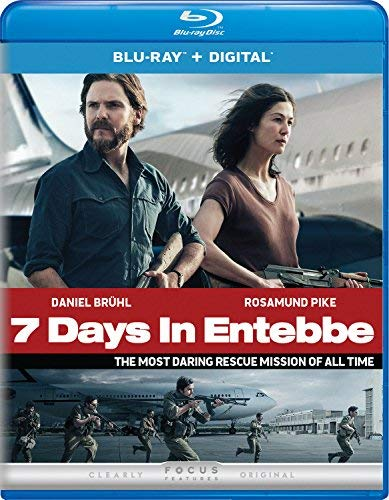 7 Days In Entebbe/Pike/Bruhl@Blu-Ray/DC@PG13