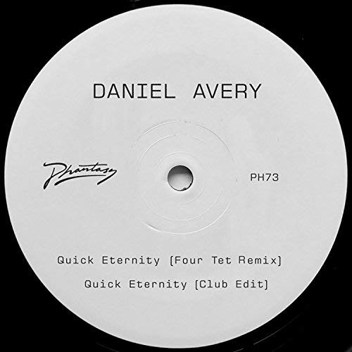 Daniel Avery Quick Eternity Four Tet Remix