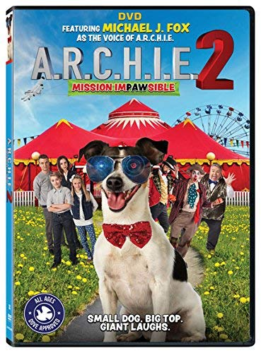 A.R.C.H.I.E. 2 Mission Impawsible A.R.C.H.I.E. 2 Mission Impawsible DVD Pg